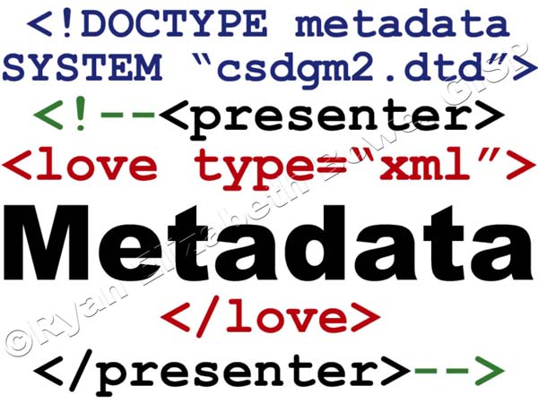 Presenter, in metadata!