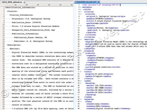 Text v. XML