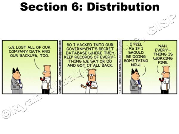Distribution Information (Section 6)